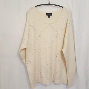 Lane Bryant bling Sweater